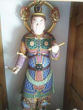 Chofu, Nhật Bản: The local temple entrance