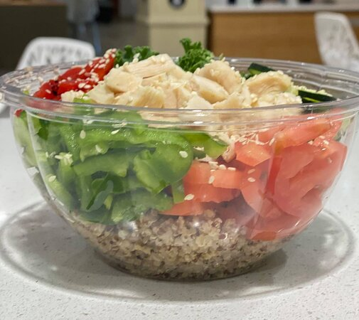 """Erie, PA: A FRESH """"Create Your Own"""" Protein Bowl filled with all your favorites keeps you full all day long. What's in your bowl? Order online for pickup or delivery."""