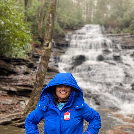 Lakemont, GA: Our Minnehaha Falls Adventure Jan. 2021