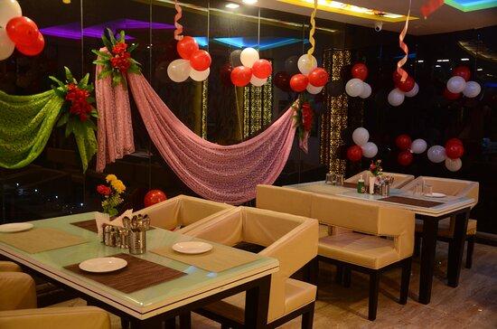Auraiya District, India: Restaurant