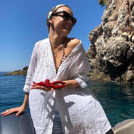 Elafiti Islands, Croatia: Doing what we do best: making our guests happy 🤗 #BluEscapeDubrovnik ❤️