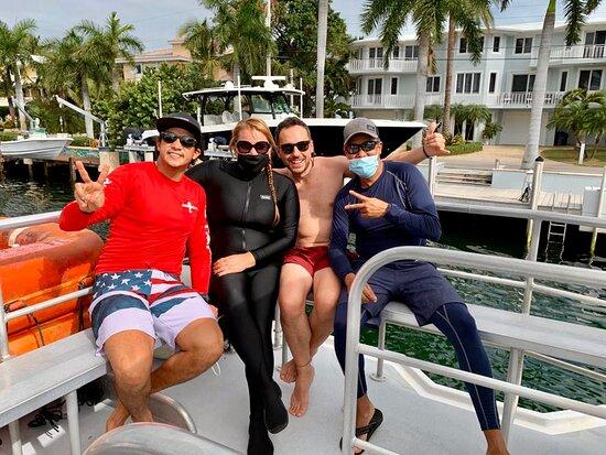 Key Largo scuba diving ACHI Divers