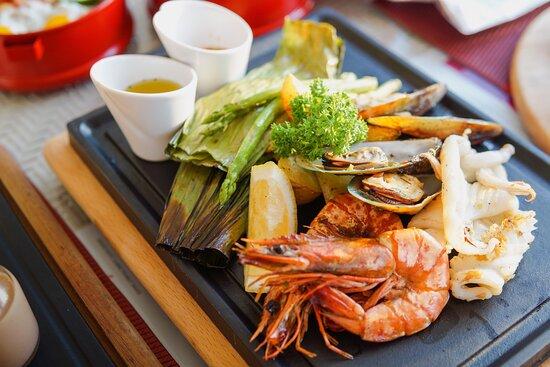 Seafood BBQ set