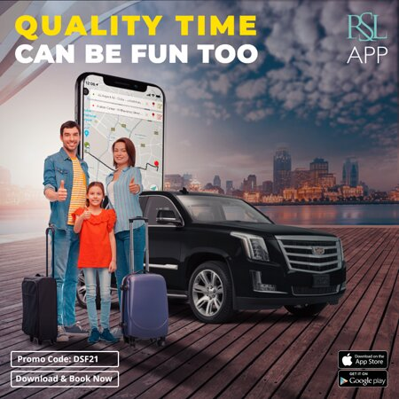 Dubai, United Arab Emirates: Every moment has a story, and this is the right season to make your best ones. Skip the hassle and pre-book your ride to the restaurant, beach, or family fun spot. RSL always got you!  Book RSL - https://rslapp.onelink.me/QjdG/. Enjoy 15% discount with promo code: DSF21.