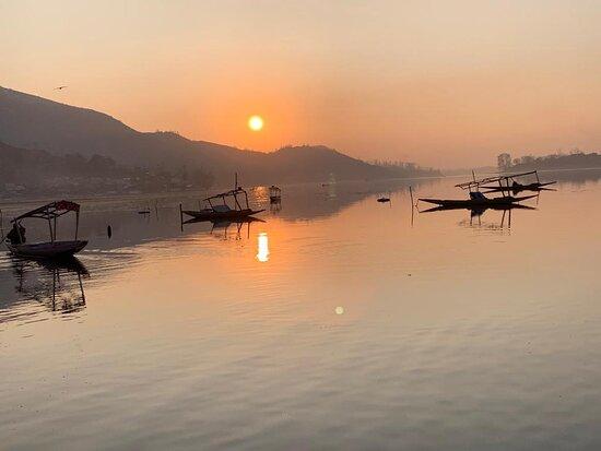 Sunset View at Manasbal Lake