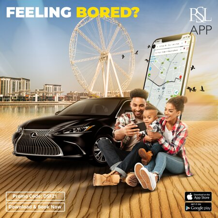 Dubai, United Arab Emirates: Plan interesting adventures, capture the moments and collect more memories. RSL is always available to pick and drop you whenever, wherever.