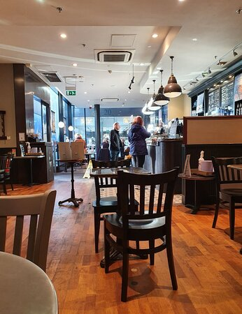 Starbucks, Liverpool One along Thomas Steers Way