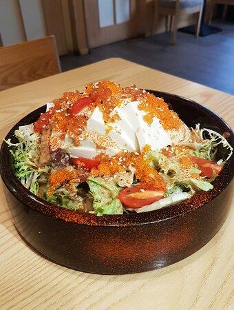 胡麻豆腐沙律