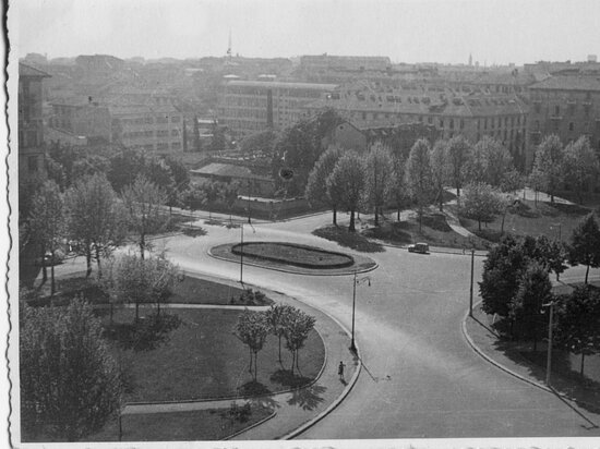 Milan, Italy: Piazzale Libia fra gli anni '20 e '40