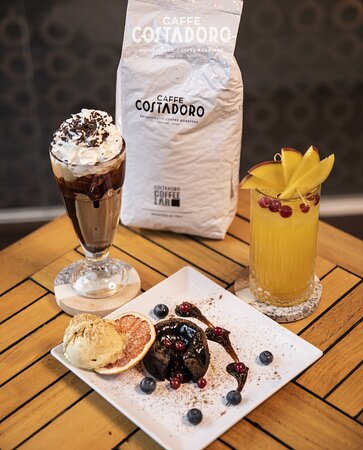 Costadoro Ness Frappe + Mango Ice Tea