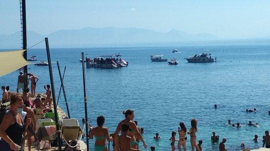 Barche nel mare