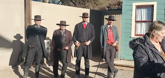 The Earp's and Doc Holliday