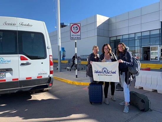Puno Region, Peru: Recojo desde el Aeropuerto