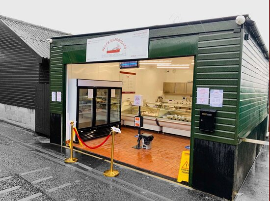 Our fish and shellfish shop