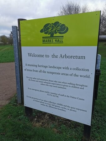 Saturday 05th December 2020 Marks Hall Estate, landscaped gardens arboretum and lakes near Coggeshall.