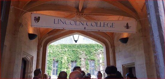 Memories ... Lincoln College. Oxford