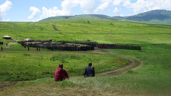 Maasai Boma - Ngorongoro