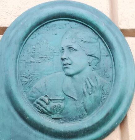Memorial Plaque to Natalya Konchalovskaya