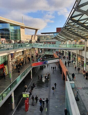 Liverpool One along Kenyons Steps