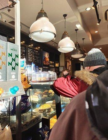 Caffe Nero along Kenyons Steps.