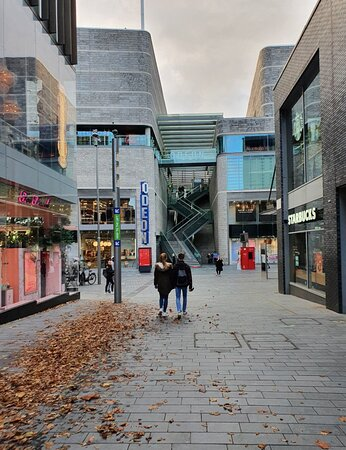 Liverpool One along Kenyons Steps.