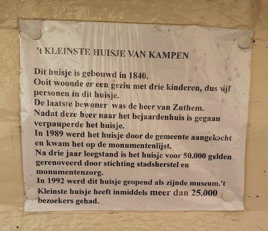 Kleinste Huisje Kampen