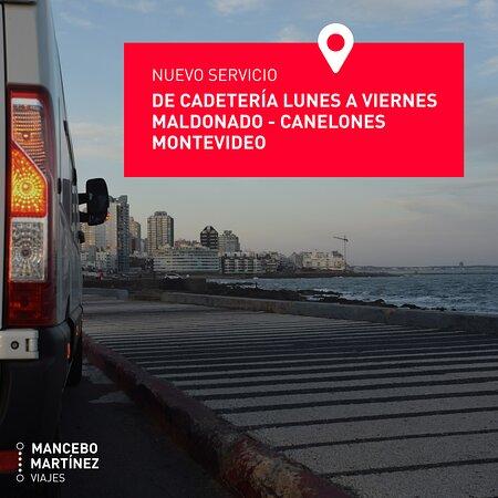 Ahora podes enviar y recibir paquetes y artículos a diario de Maldonado a Montevideo y de al revés. Retiramos a lo largo de Av. Interbalnearia ida y vuelta. Costos accesibles. Consultas al 096 407 216.