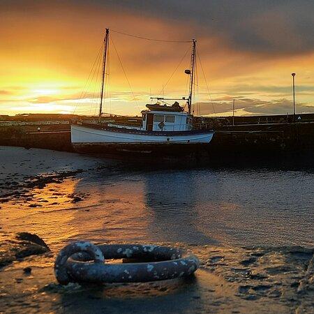 Hopeman Harbour Moray