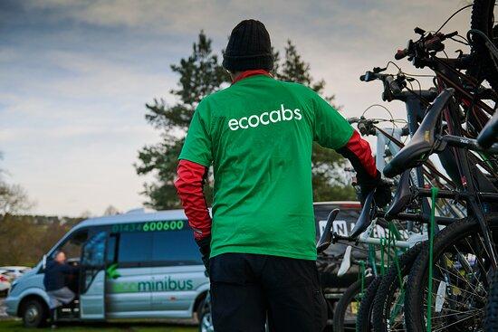 Hexham, UK: ecocabs Cycles Transport