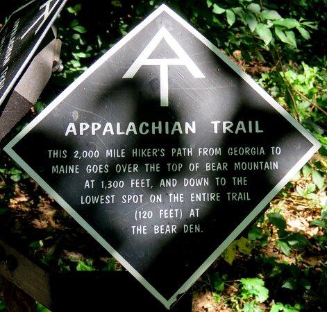 Bear Mountain, นิวยอร์ก: Appalachian Trail