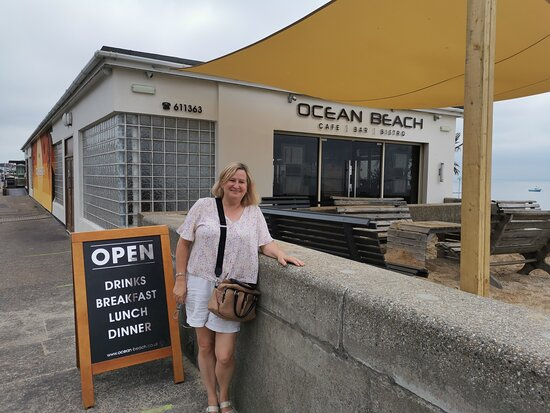 Friday 14th August 2020 Breakfast with Christine at Ocean Beach Cafe Southend Seafront.