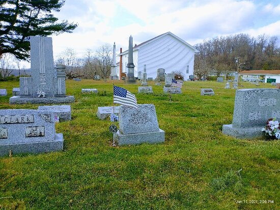 Various views of the cemetery. If anyone needs a picture of a particular headstone let me know and I will take it for you.