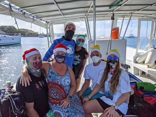 5 Day Scuba Dive Package with Aquanauts Grenada: Happy Holidays from beautiful Grenada
