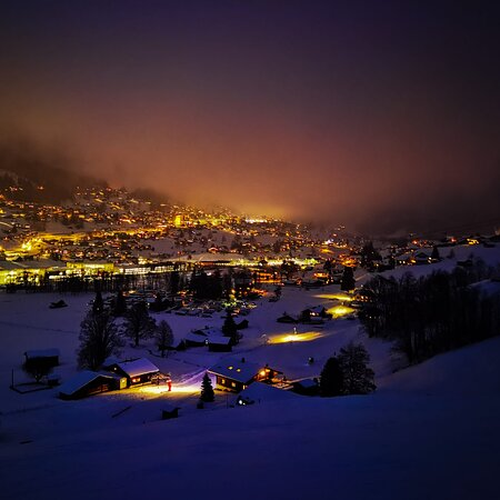 Grindelwald at night is magical!
