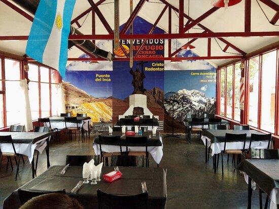Los Penitentes, ארגנטינה: Salón comedor