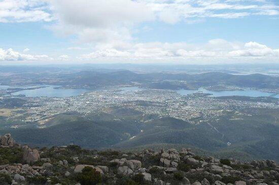 kunanyi / Mt Wellington Explorer Bus - 2 Hour Return Tour: Hobart