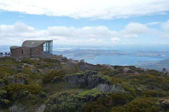 kunanyi / Mt Wellington Explorer Bus - 2 Hour Return Tour: indoor viewing area