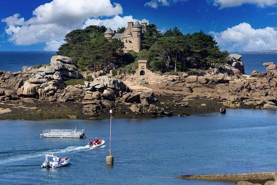 Cotes-d'Armor, Francie: Les Côtes d'Armor, une région de Bretagne à découvrir qui offre de magnifiques paysages.