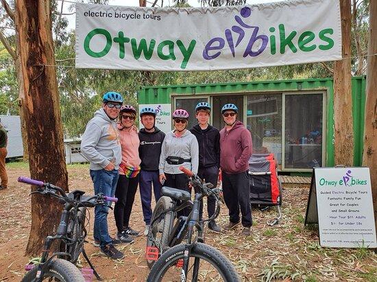 Ebike tour through the bush