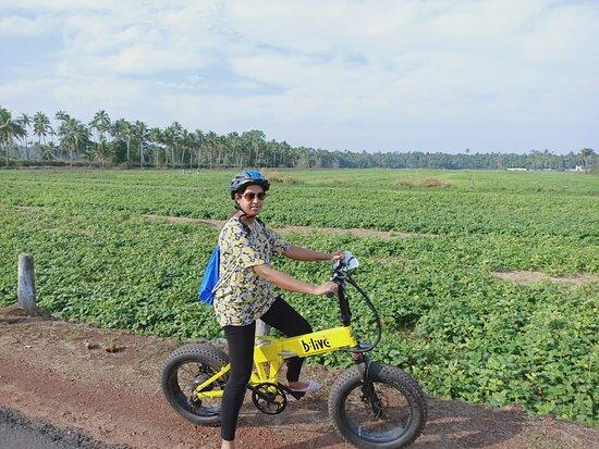 BLive Electric Bike Tours – Village Vistas of Cansaulim: A Vista of Green!