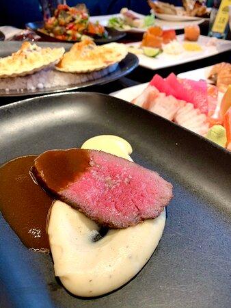 Roasted beef menu