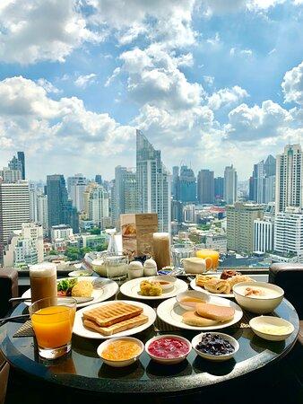 Breakfast at 31st floor