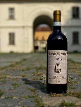 🇮🇹 MITICO perchè elaborato con vitigno 100% avanà autoctono di Chiomonte !!! un vino rosso VALUSA D.O.C molto sorprendente ❤️                         .  🇫🇷 MITICO «Mythique» parce qu'il est élaboré en mono cépage 100% «Avanà» autochtone de Chiomonte !!! un vin rouge A.O.C VALUSA très surprenant ❤️