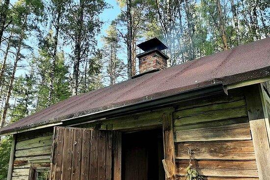 Opplev en finsk røyksauna