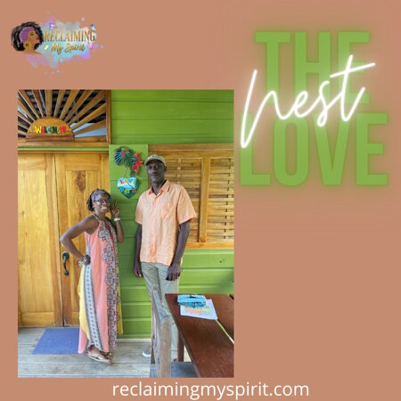 The entrance to the Love Nest