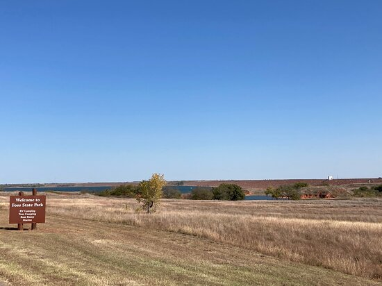 Take in western Oklahoma's unique beauty at Foss State Park.