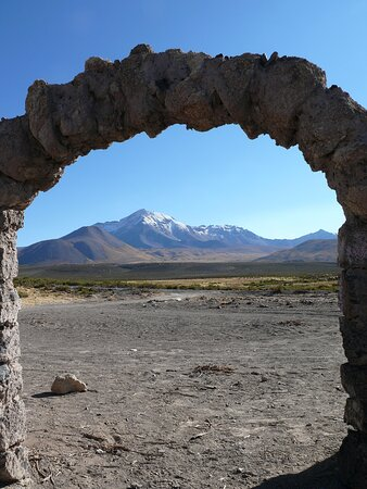 Colchane, Chile: Parque Nacional Volcan Isluga-Cile