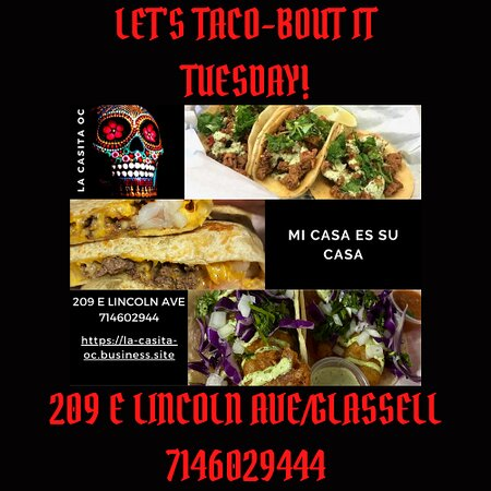 LETS TACO-BOUT TUESDAYS!