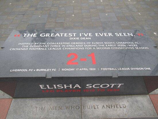 Anfield Stadium.
