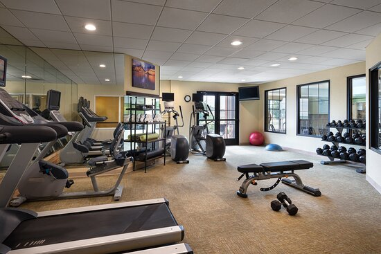 With our fitness center, your routine doesn't need to take a break